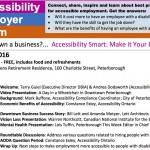 Bill Lett and Amanda Motyer Present at Accessibility Employer Forum