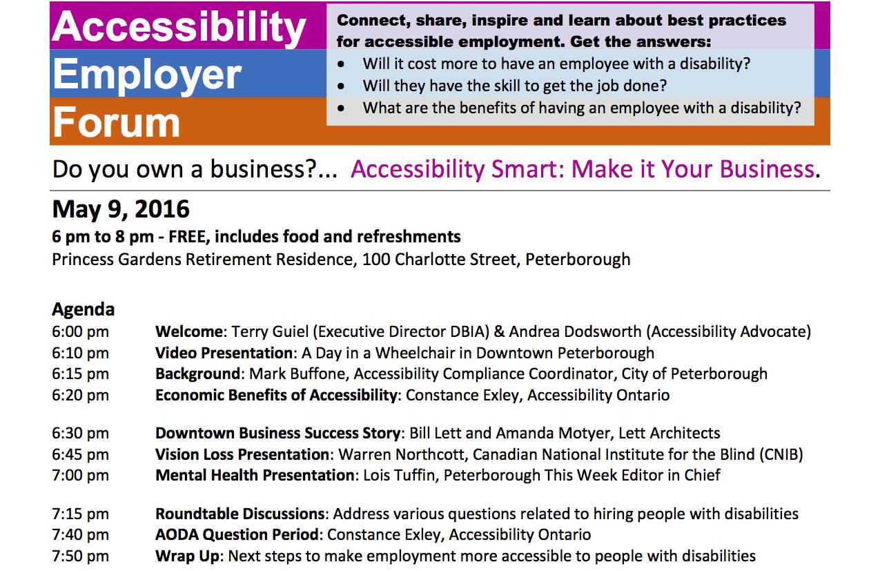 2016-04-28 Agenda Accessibility Employer Forum WF